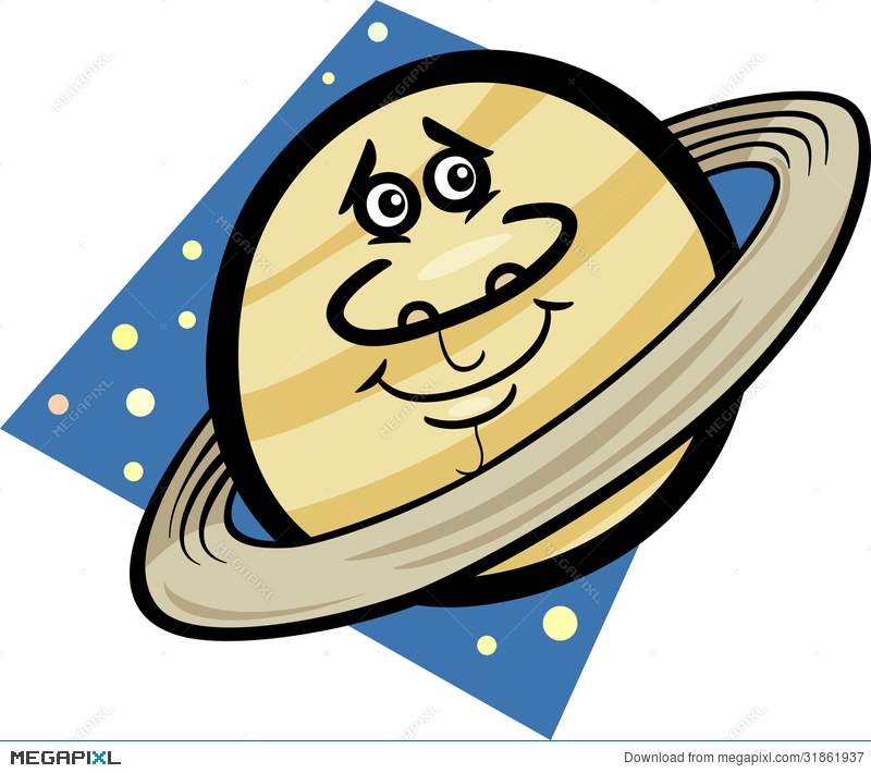 Planets clipart funny #9