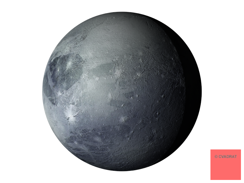 Planets clipart grey #2