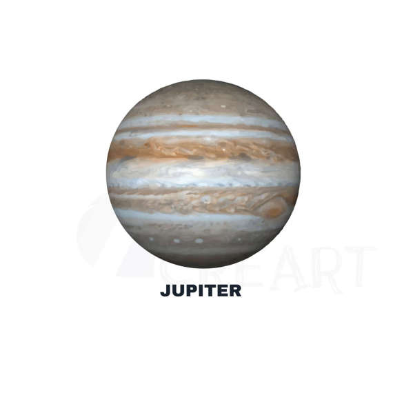 Planets clipart grey #11