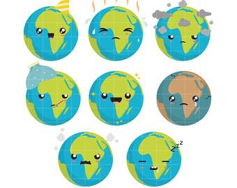 Planet clipart kawaii For Cupcake Making Paper Scrapbooking