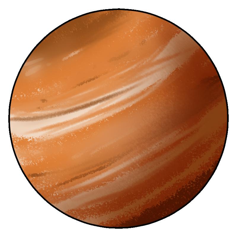 Planets clipart mercury #12