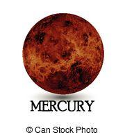 Planets clipart mercury #8