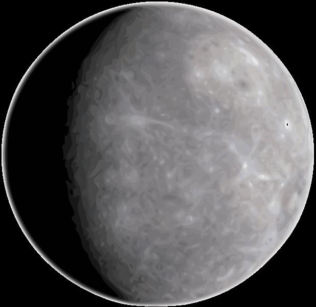 Planets clipart mercury #9