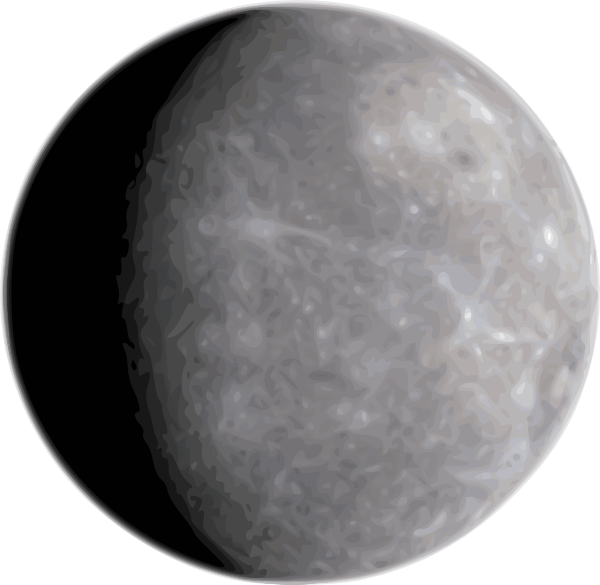Planets clipart mercury #2