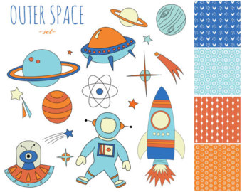 Planet clipart printable Paper Planets Clipart with 60%