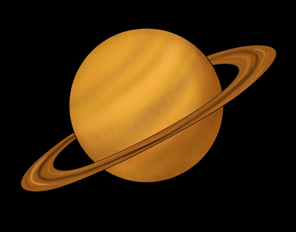 Planet clipart saturn Domain books planet Art clip