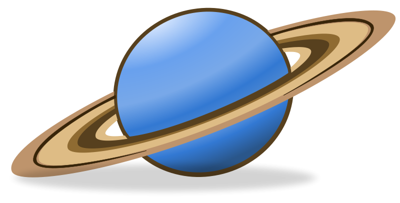 Planet clipart saturn 3 clip space about page