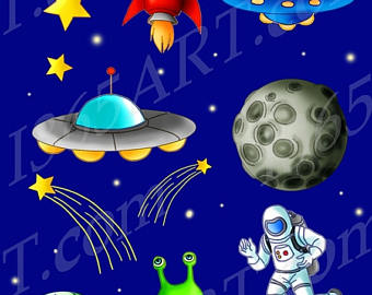 Planets clipart space science #3