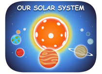 Planets clipart space science #6