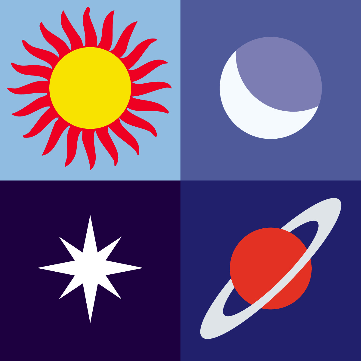 Planets clipart space science #2