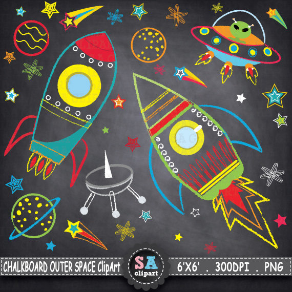 Planet clipart spaceship SPACE