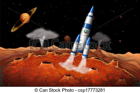 Planets clipart spaceship  Planets Planets the spaceship