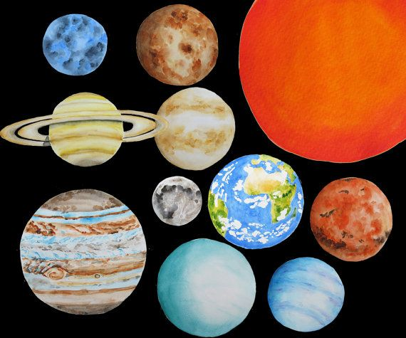 Planets clipart universe 25+ in ideas all on