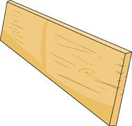 Planks clipart wooden stick Plank Graphics From: Construction Search