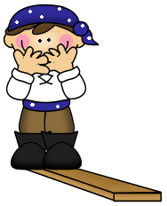 Planks clipart walk the plank Plank the art Pirate/hooked clip