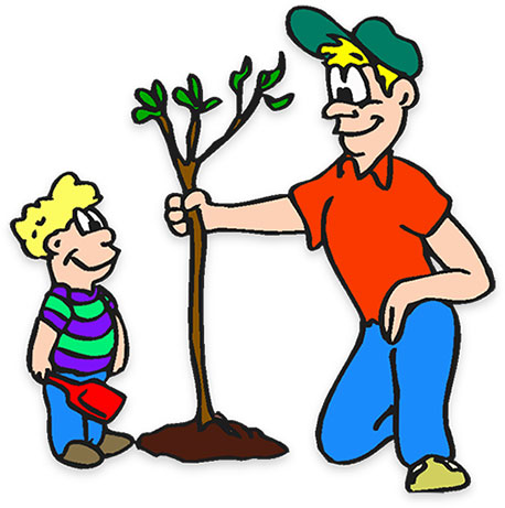 Plant clipart animated Planting Free Clipart Arbor tree