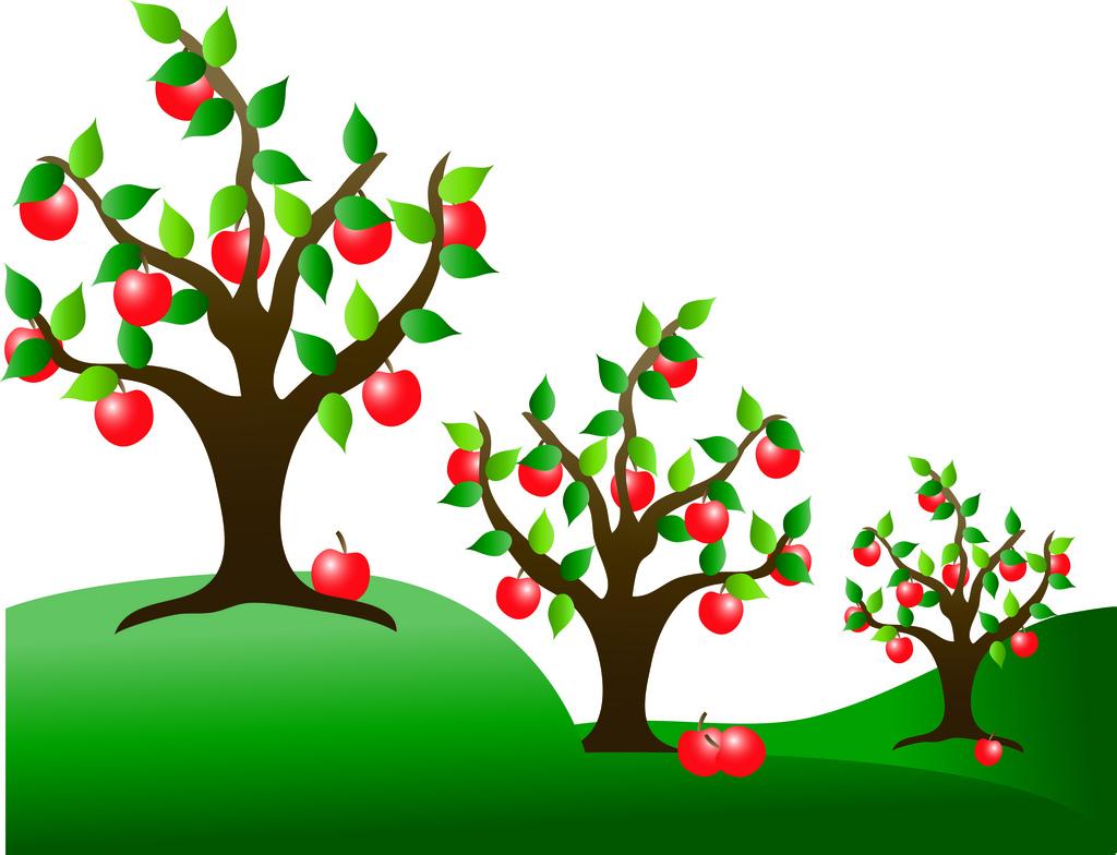Season clipart apple tree #11
