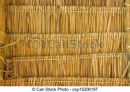 Plant clipart cogon Stock csp15206197 Stock of roof