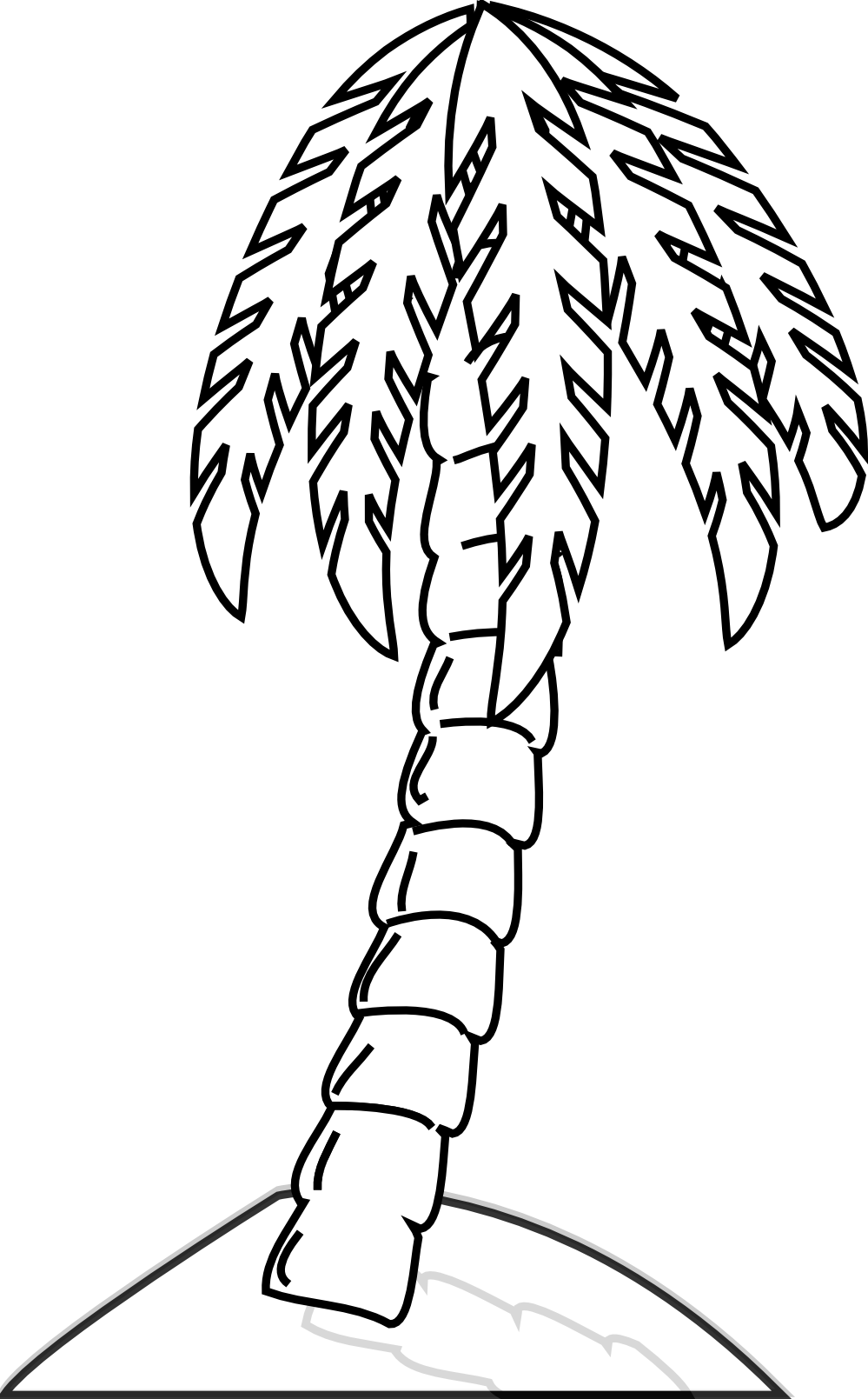 Plant clipart colouring Clipart Panda Page Images Tree