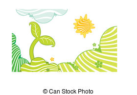 Plant clipart little plant Small Vector growing image growing