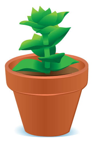 Plant clipart little plant Potted Clipart Free illegal%20clipart Panda