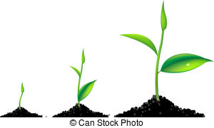 Plant clipart plant sprout Art Young 3 EPS 8