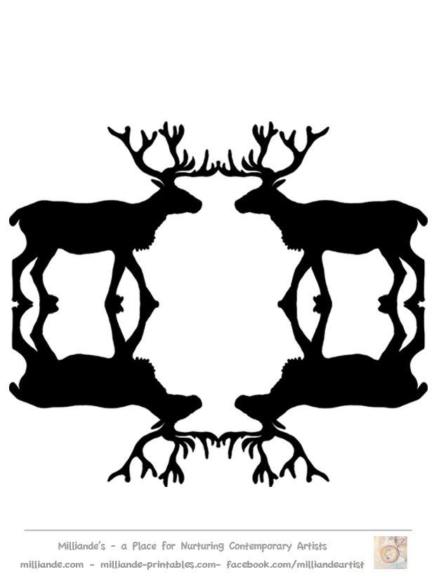 Reindeer clipart love #2