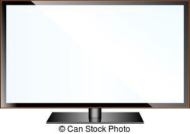 Plasma clipart led tv #3