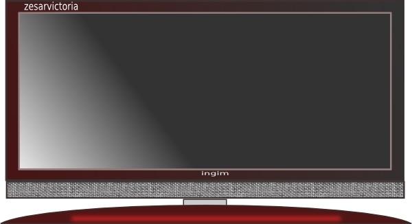 Plasma clipart led tv #8