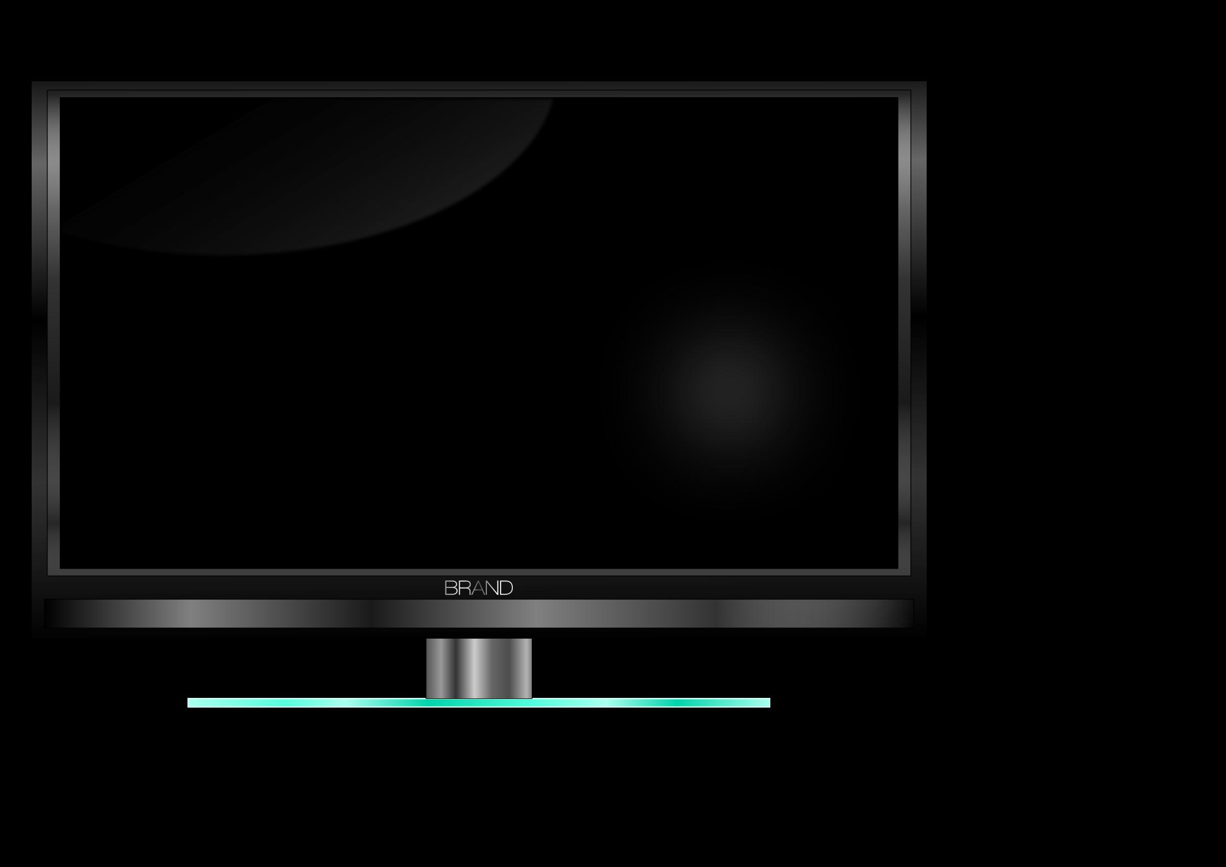Plasma clipart led tv #2