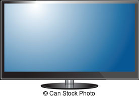 Display clipart plasma tv TV screen screen TV Art