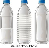 Plastic clipart juice bottle Clear three Plastic  and