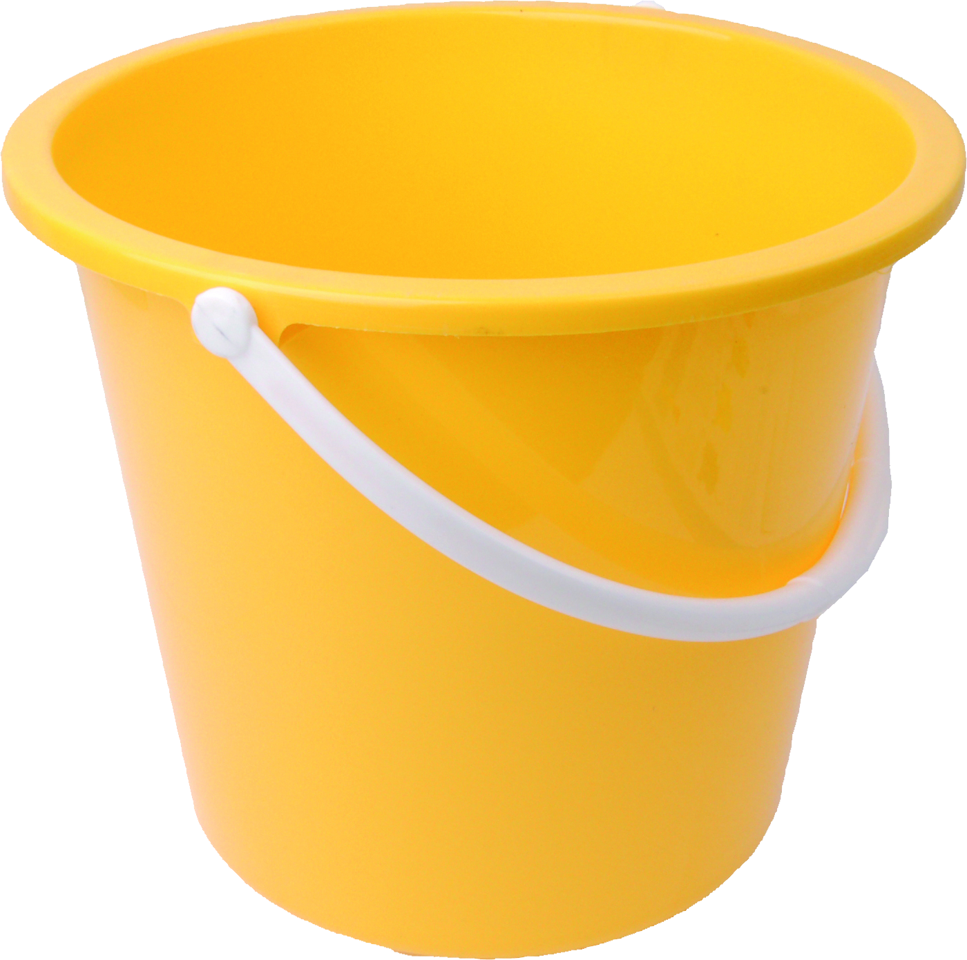 Yellow clipart pail Free Bucket yellow PNG PNG