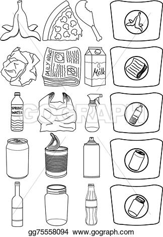 Illustration EPS Vector recycling Vector