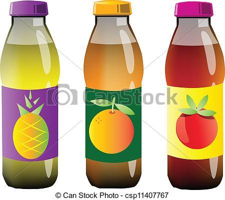 Plastic clipart juce Clip Art bottles juice juice