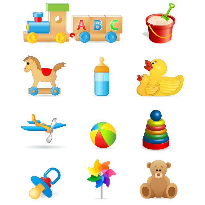 For kids Toys clipart for