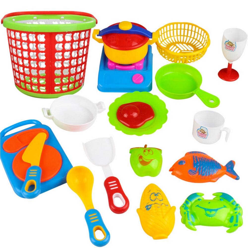 Pretend Food Kitchen com Plastic