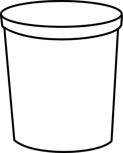 Container clipart Clip Art Cylinder art this