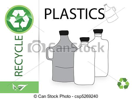 Plastic clipart plastics Of Search recycle csp5269240 Clipart