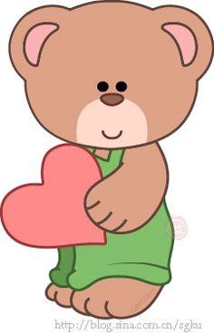 Teddy clipart little bear #6