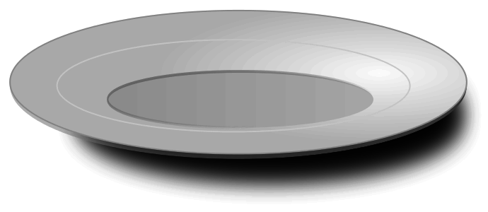 Plate clipart Plate 7 Empty Clip Download
