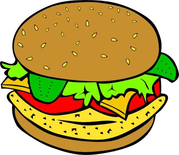 Burger clipart fish sandwich Menu art Art Clip clip