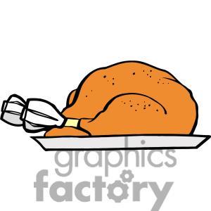 Turkey clipart plate #5