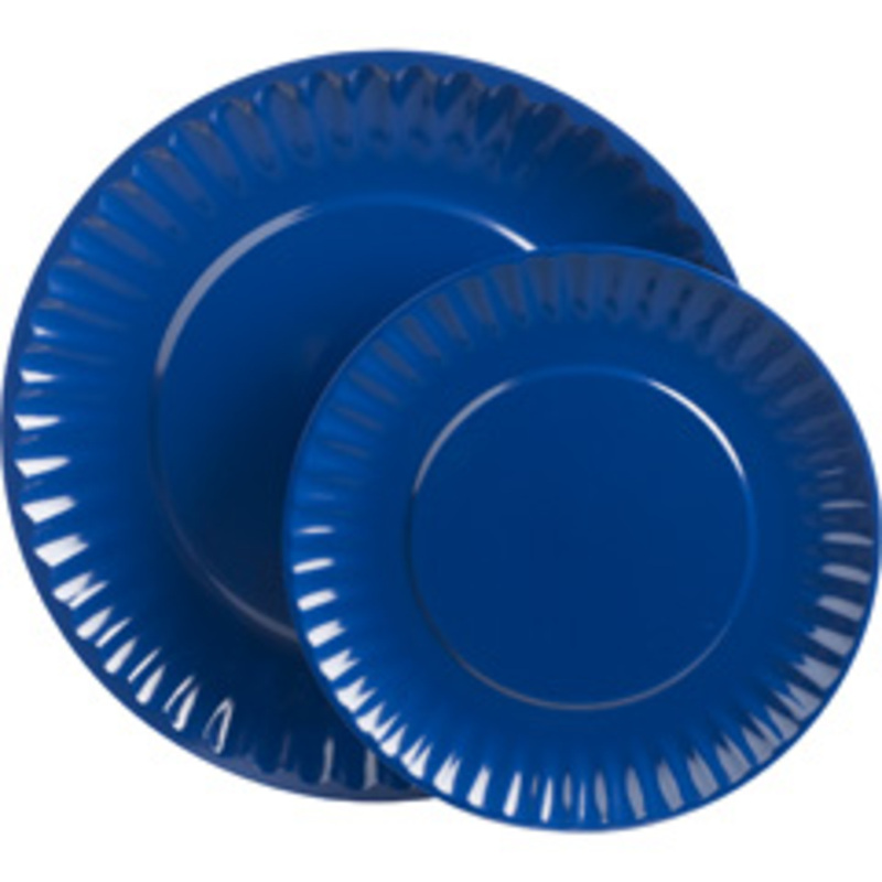 Plate clipart blue And Paper clipart Striped cups