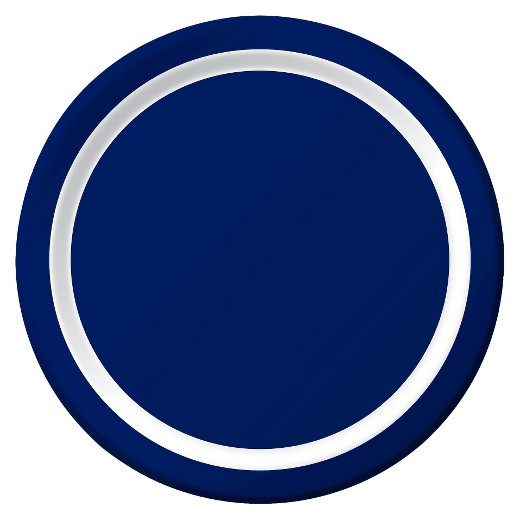 Plate clipart blue 10ct $2 : with White