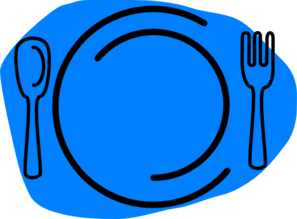 Plate clipart blue Special Blue at art