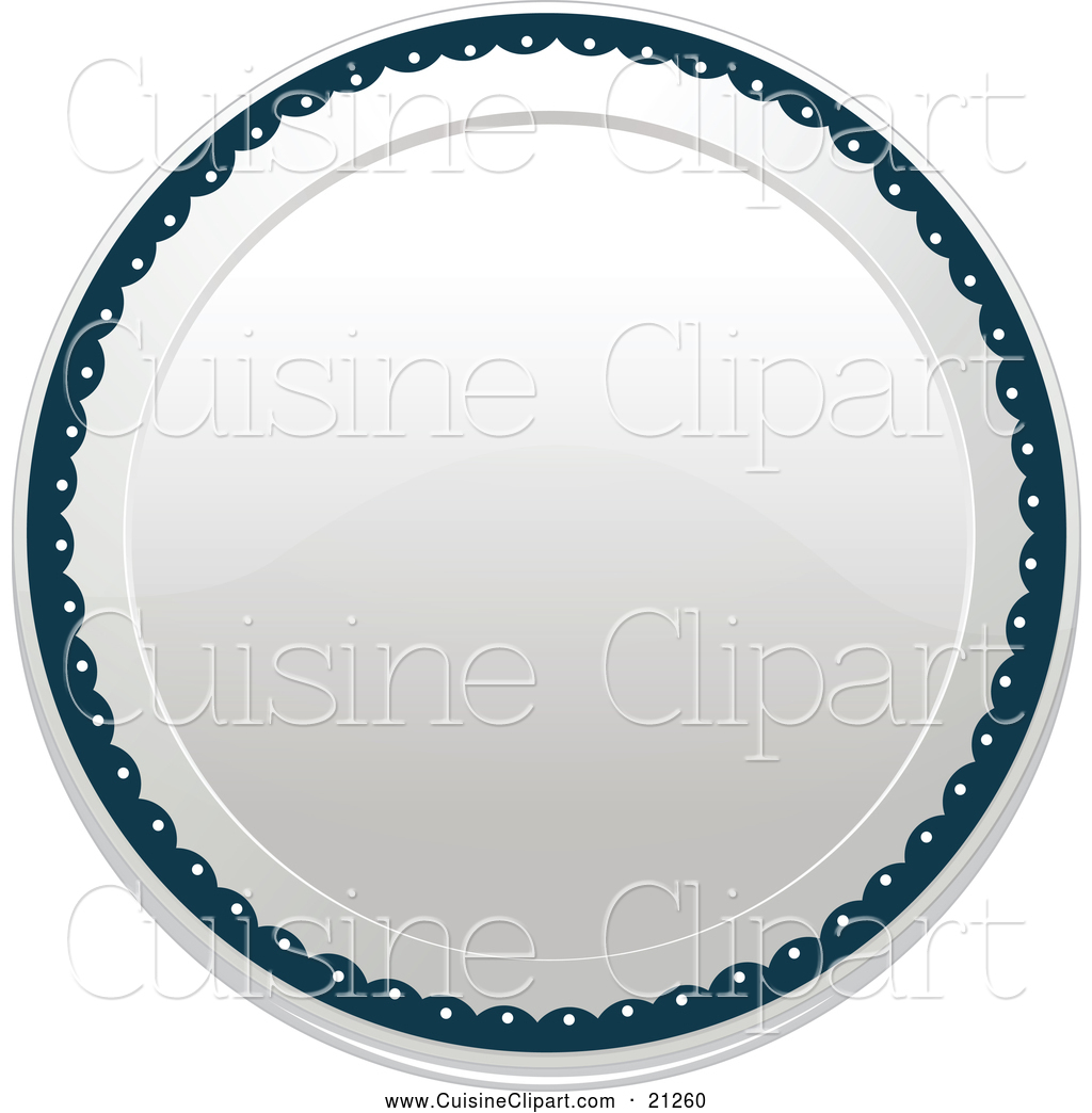 Plate clipart blue And Empty Designs Best Some