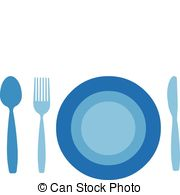 Plate clipart blue With  Plate 118 Plate