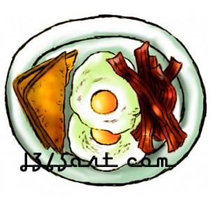 Breakfast clipart breakfast plate Eggs Clipart Free Images Breakfast