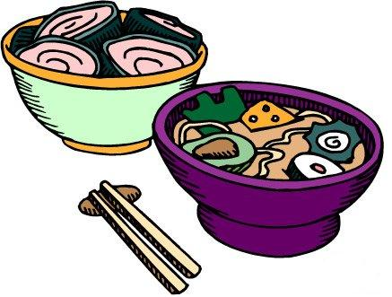Chinese Food clipart cute panda Plate food with clipart collection